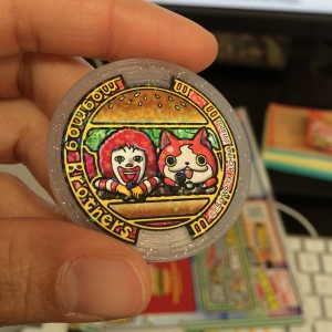 Yokai Watch McDonald's medal